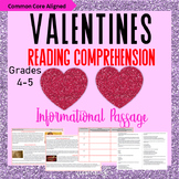 Valentine's Day Reading Comprehension Activity