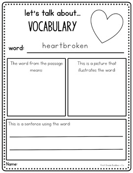 Valentine's Day Reading Passage with Comprehension Questions