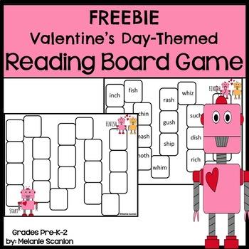 Valentine's Day Reading Game