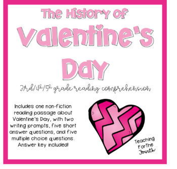 Valentine's Day Reading Passage