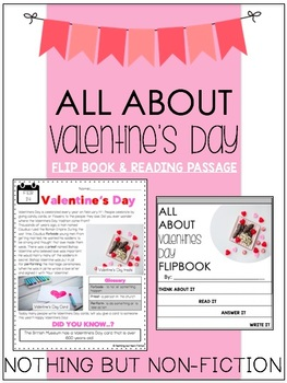 Valentine's Day Reading Passage ::FREEBIE::