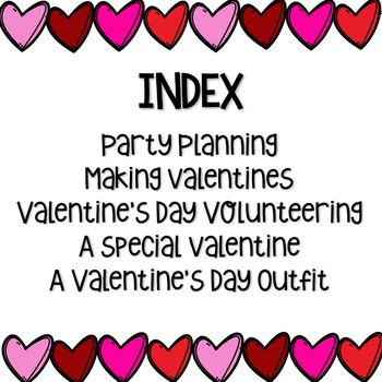Valentine's Day Reading Passages - Fluency & Comprehension- {DIFFERENTIATED}