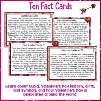 Valentine's Day Reading Comprehension Activity