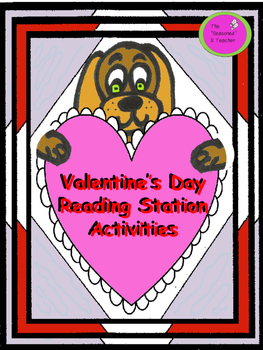 Valentine's Day Reading Station Activities