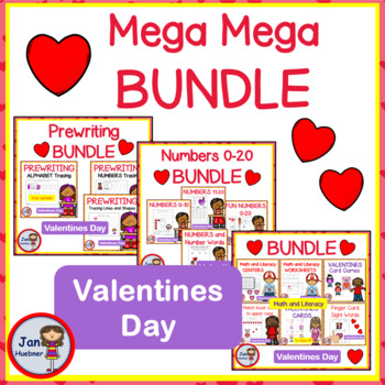 Valentine's Day Reading and Writing Fun BUNDLE