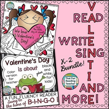 Valentine's Day Read, Write, Sing and More Bundle!