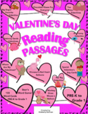 Valentine's Day Reading comprehension passages and questio