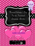 Valentine's Day Ready to use Lesson Plans and Interactive