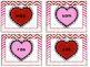 Valentine's Day Real vs. Fake Short Vowel Words Center