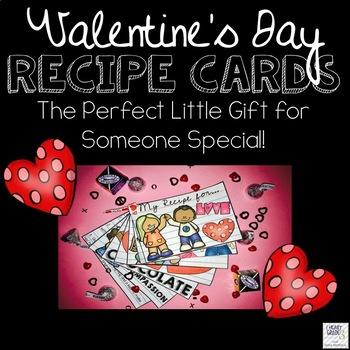 Valentine's Day Recipe Card Gift