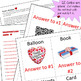 Valentine's Day Review Game Template with QR Codes