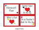 Valentine's Day Reward Coupons * For Students, From Teacher