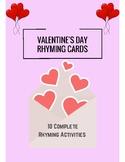 Valentine's Day Rhyming Activity