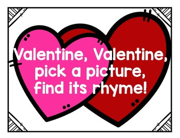 Valentine's Day Rhyming Center