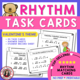 Valentine's Day Rhythm Task Cards