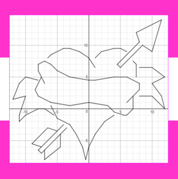 Valentine's Day - Right to the Heart - A Math-Then-Graph Activity - 15 Systems