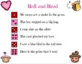 Valentine's Day Roll and Read