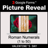 Valentine's Day: Roman Numerals (1 to 50) - Google Forms |