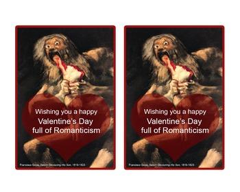 Valentine's Day Romanticism Puntastic Cards