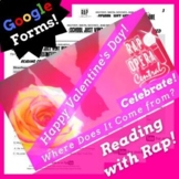 The History of Valentine's Day Reading Passage Root Words