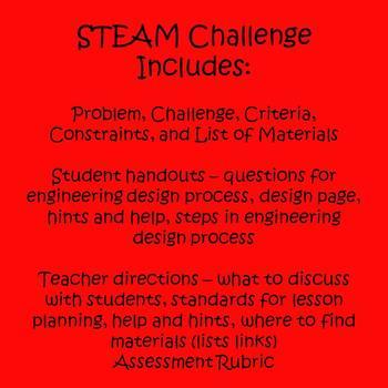 Valentine's Day STEAM Design Challenge Activity
