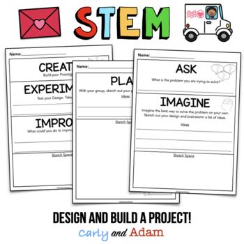 Valentine's Day STEM Activity: Bundle