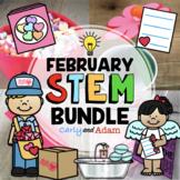 Valentine's Day STEM Activities and Valentine's Day STEM C