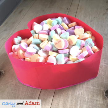 Valentine's Day STEM Activity: Candy Box Designer - NGSS ALIGNED
