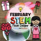 Flower Designer Valentine's Day STEM Activity
