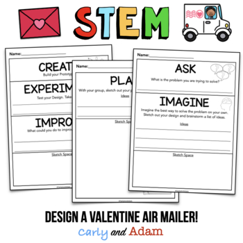 Valentine's Day STEM Activity: Valentine Mail Delivery - NGSS Aligned