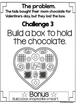 Valentine STEM Challenge