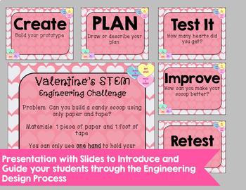 Valentine's Day STEM Challenge: Candy Scoop