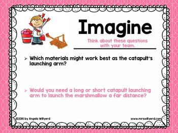 Valentine's Day STEM Challenge: Cupid's Catapult - Grades 3-5 - PowerPoint