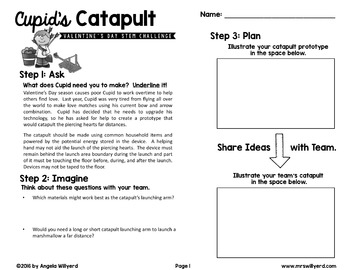 Valentine's Day STEM Challenge: Cupid's Catapult - Grades 3-5 - SMART Bd