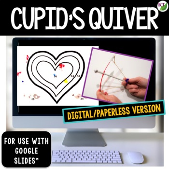 Valentine's Day STEM Challenge: Cupid's Quiver 1:1 Paperless Version