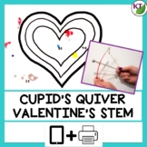 Valentine's Day STEM Challenge - Cupid's Quiver Print and Paperless Bundle