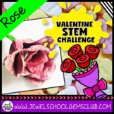 February Valentine's Day STEM Activities (Flower Valentine's STEM Challenge)