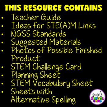 Valentine's Day STEM Challenge (Valentine's Day STEM Activities)