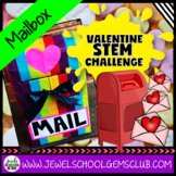 February Valentine's Day STEM Activities (Mailbox Valentine's STEM Challenge)