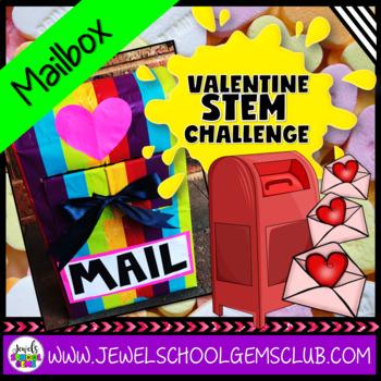 February Valentine's Day STEM Activities (Mailbox Valentine's STEM Challenge)