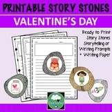 Valentine's Day STORY STONES Story Prompts Writing Prompts