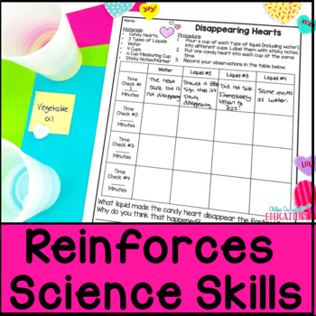 Valentine's Day Science Station Activities