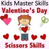 Valentine's Day Scissors Skills Activities
