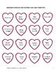 Valentine's Day Second Grade Common Core Aligned Vocabular