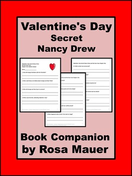 Valentine's Day Secret Nancy Drew and the Clue Crew