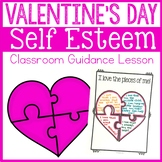 Valentine's Day Self Esteem Classroom Guidance Lesson - School Counseling
