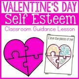 Valentine's Day Self Esteem Activity Classroom Guidance Lesson