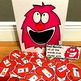 "Valentine's Day Sensory Bin Activities:  ""Feed The Love Monster"""