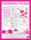 Valentine's Day Sensory Motor Packet
