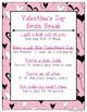 Valentine's Day Sensory Motor Packet
